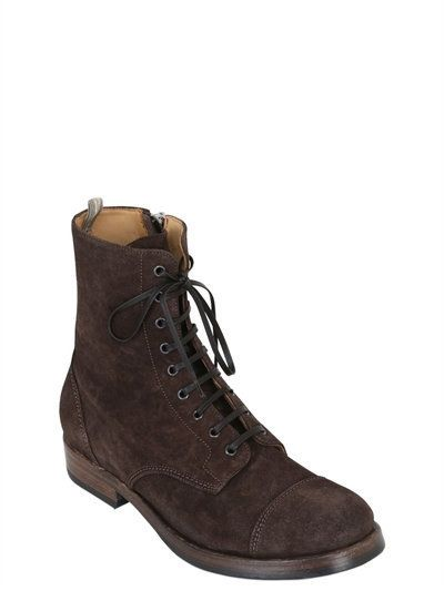 Boots, Mens suede boots
