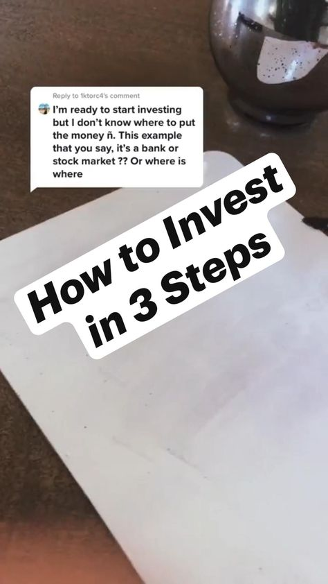 How to Become an Investor in 3 Steps