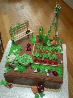87123e1b829c8d7ccbfa5812deebc885 Jpg 236 314 Gartenkuchen Kuchen Gartenmotiv 70 Geburtstagskuchen