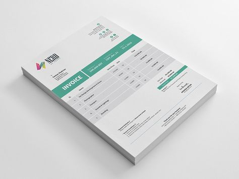 Free Billing Invoice Template AI \ EPS Print Templates - free invoices to print
