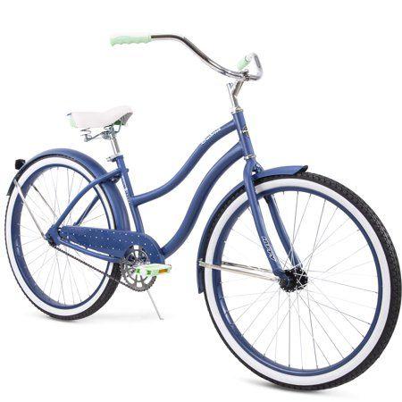 Huffy 26 Cranbrook Womens Cruiser Bike With Perfect Fit Frame Walmart Com Cruiser Bike Bicycle Comfort Bike