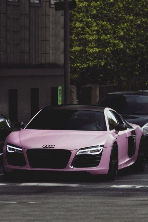 Matte Pink Audi R8 Alfaromeo Cv Design Creative Pink Car Best Luxury Cars
