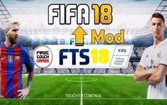 Fts 2018 Mod Fifa 18 Apk Obb Data Download Com Imagens Jogos