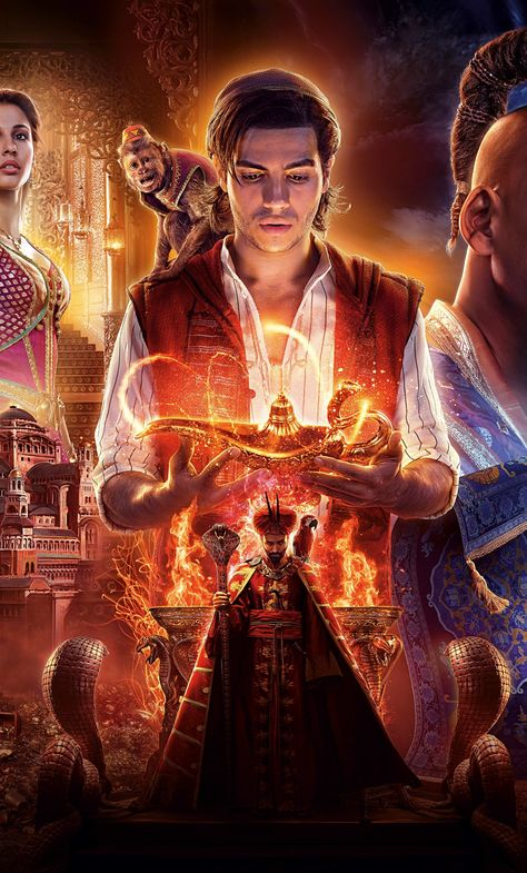 1280x2120 Aladdin 2019 Movie 4K 6K iPhone 6 plus Wallpaper ... - Movie Collection