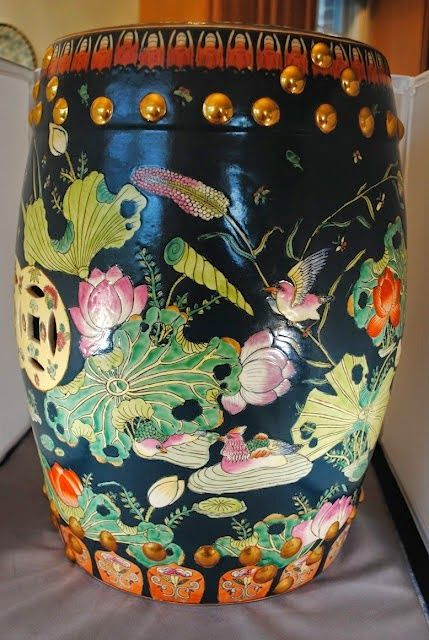 Decorating With Chinese Garden Seats Ceramic Garden Stools