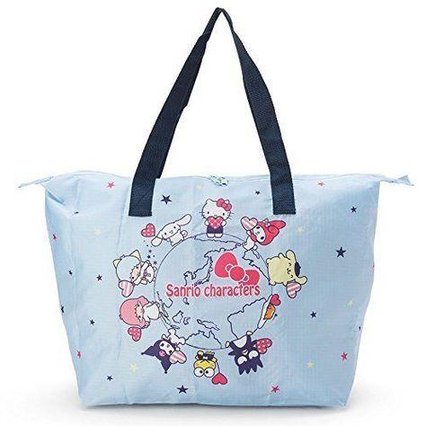 aac20ac79 New! Sanrio Characters Mix Folding Bag World Japan F/S #Sanrio