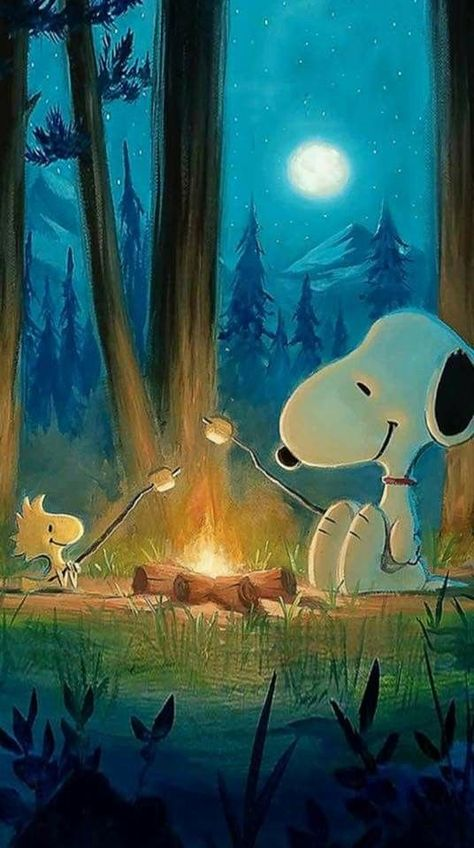 Snoopy and Woodstock - Caarton