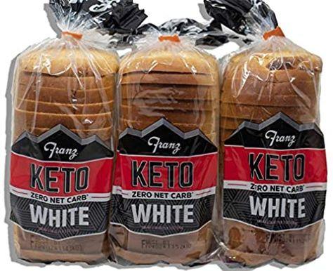 Amazon Com Keto Bread 0 Zero Net Carbs Per Serving 3 Loaves For Your Keto Diet Grocery Gourmet Food Keto Bread Keto Carbs