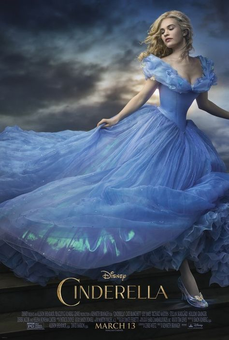 """Cinderella's dress has a """"shimmer"""" of purple!"""