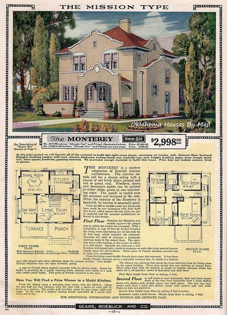 Image Result For 1920s House Plans Mission Revival Colonial House Plans Courtyard House Plans Beach House Plans
