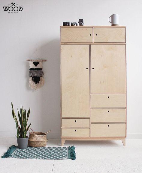 Baba 4 Handmade Plywood Wardrobe - pinupi love to share