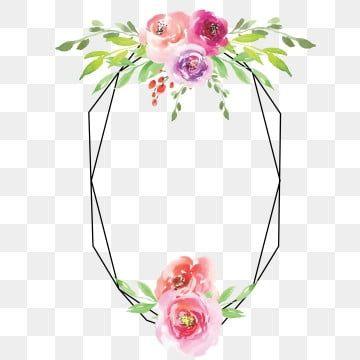 برواز الوردة مائية النمط زهور الوردة Wattercolor Png والمتجهات للتحميل مجانا Wedding Enclosure Cards Watercolor Rose Rose