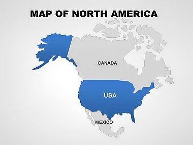 North America Map PowerPoint Template | north america ... on usa powerpoint theme, turkey powerpoint template, united states powerpoint template, under the sea powerpoint template, florida powerpoint template, alphabet powerpoint template, tennessee powerpoint template, washington powerpoint template, colorado powerpoint template, star powerpoint template, maryland powerpoint template, usa map templates microsoft, georgia powerpoint template, usa map abstract, kentucky powerpoint template, california powerpoint template, usa map green, 50 states powerpoint template, us map outline template, fractions powerpoint template,