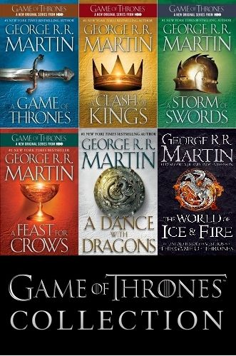 Game Of Thrones Collection Song Of Ice And Fire 1 6 Complete