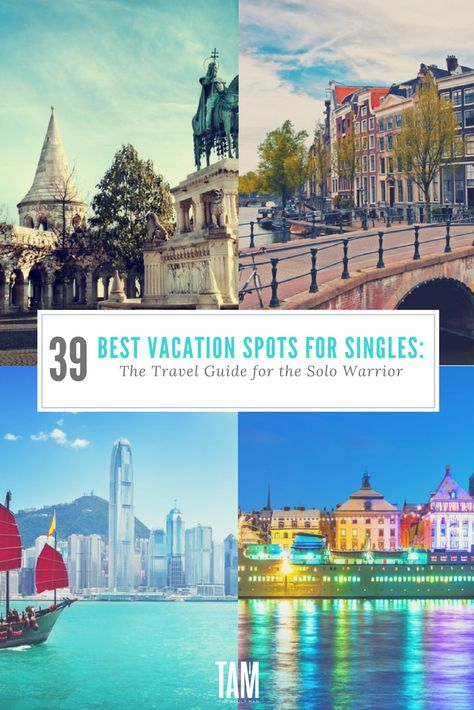 Travel ideas for singles