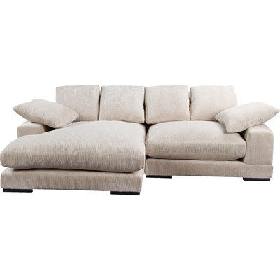 Albin Right Hand Facing Sectional Sectional Ottoman, Sleeper Sectional, Corner Sectional, Chaise Sofa, Couches, White Sectional, Sectional Furniture, House Furniture, Modular Design