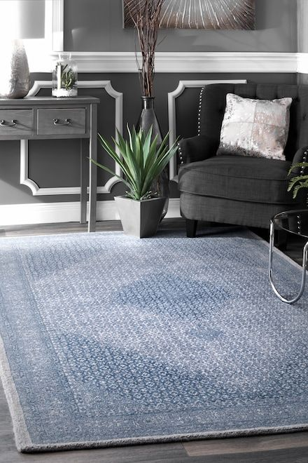 Rugs Usa Blue Tuscan Coventry Rug With