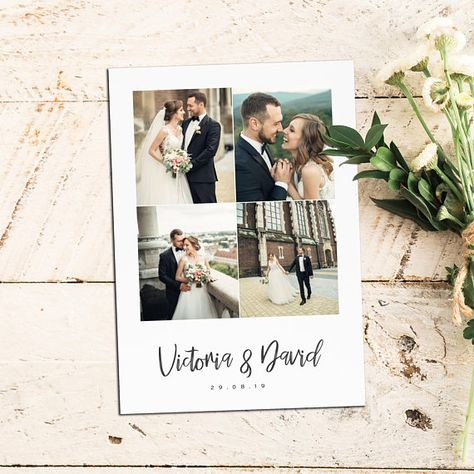 Thank You Cards | Thank You Notes | Wedding Thank You Cards With Photo | Personalised Thank You Cards | Thank You Postcards