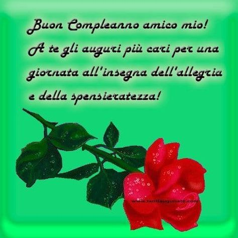 Eccezionale 767 best Buon Compleanno images on Pinterest | Happy b day, Happy  BR23