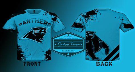 north carolina panthers t shirt design