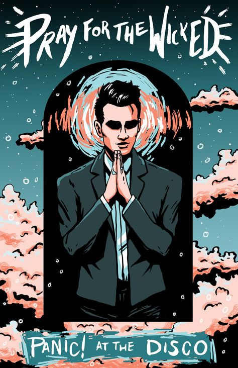 """darbydraws: """"Pray for the Wicked // Panic! at the Disco """""""