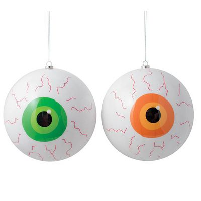 Pack of 12 Halloween Eyeball Erasers Rubbers Party Loot Bag Fillers