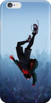 Miles Morales jump Snap Case for iPhone 6 & iPhone 6s