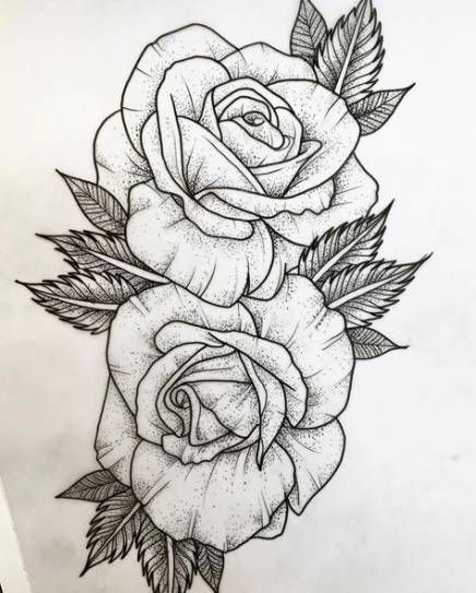 37 Trendy Flowers Roses Drawing Tattoo Ideas Rose Drawing Tattoo Roses Drawing Rose Drawing