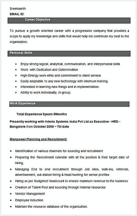 Executive Hrd Resume Sample Hr Manager Resume Sample This Hr