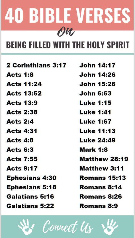 Bible Scriptures, Bible Prayers, Bible Verses Quotes, Holy Spirit Scriptures, Jesus Quotes, Scripture Reading, Scripture Study, Bible Study Notebook, Bible Plan