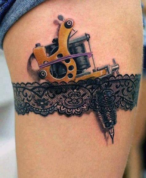tatuaże na udzie 2