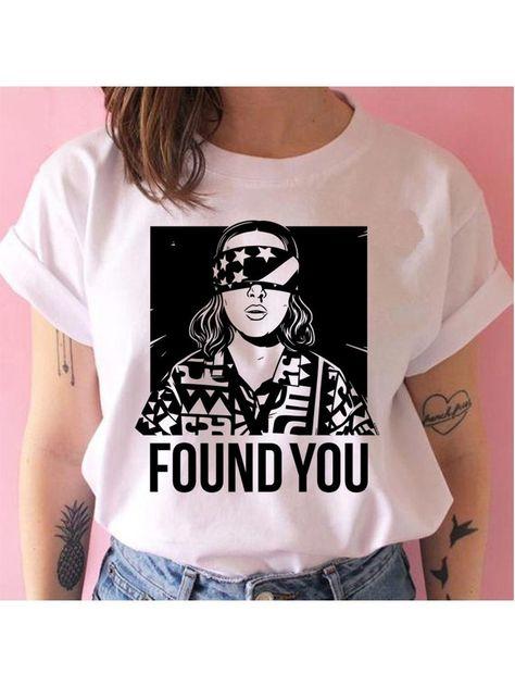 Funny Tee Shirts Stranger Things Season 3 Graphic T-Shirt, Style 900 / XL