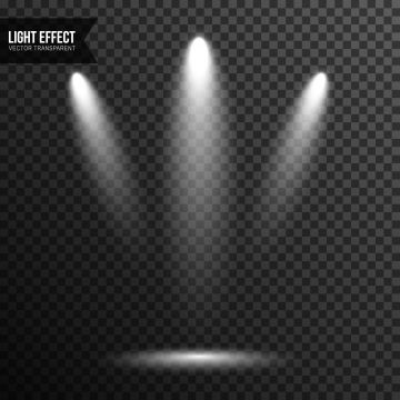 Spotlight Illumination Stage Concert Scene Light Effect Vector Transparent Spotlight Clipart Abstract Backdrop Png And Vector With Transparent Background For Light Effect Green Screen Video Backgrounds Light In The Dark