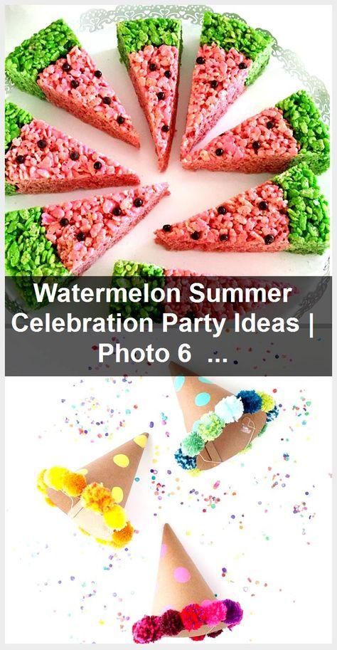 Watermelon Summer Celebration Party Ideas | Photo 6 of 14,  #celebration #ideas #party #photo #summer #watermelon