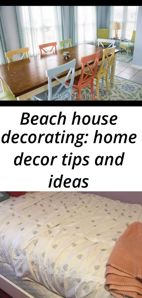 Beach house decorating: home decor tips and ideas