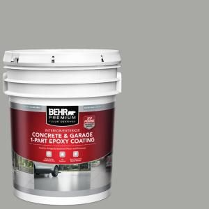 Rust Oleum Epoxyshield 240 Oz Gray High Gloss 2 5 Car Garage Floor Kit 301355 The Home Depot In 2020 Garage Floor Paint Garage Floor Painted Floors