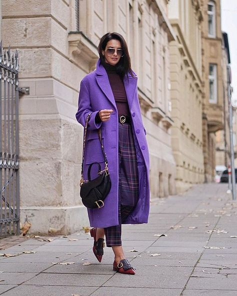 "Laetitia Nimah Blume on Instagram: ""Purple love 💜 by @reserved #reserved #reservedforme #fw2018 [Anzeige/Ad]"""