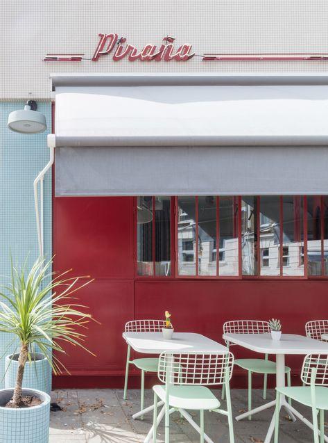 Sella Concept avoids cliches in retro-themed London restaurant Piraña