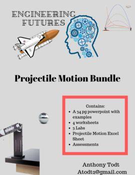 Projectile Motion Bundle With Images Projectile Motion Bundles
