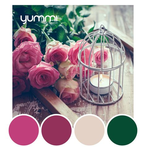 10% OFF The Full Bloom Palette! Use Promo Code FULL10 At Checkout. Shop Now at www.YummiCandles.com