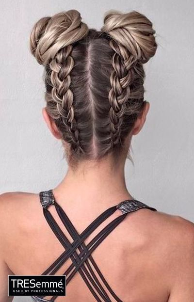 This It Girl Hairstyle Is All Over Pinterest Right Now Dance Hairstyles Medium Hair Styles Cool Hairstyles
