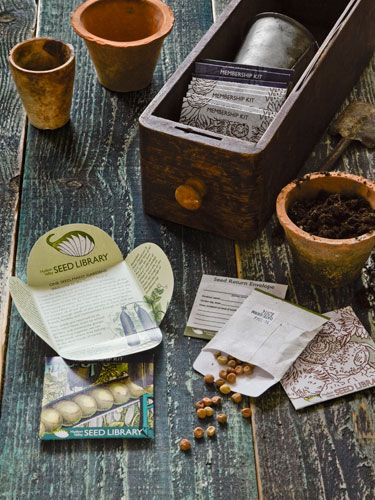 Join a seed library. #countryliving #gardentips #gardenscience
