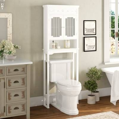 16+ Wayfair over toilet shelf type