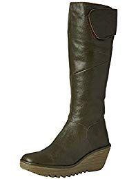 FLY London Damen Yule Langschaft Stiefel #schuhe nWb58