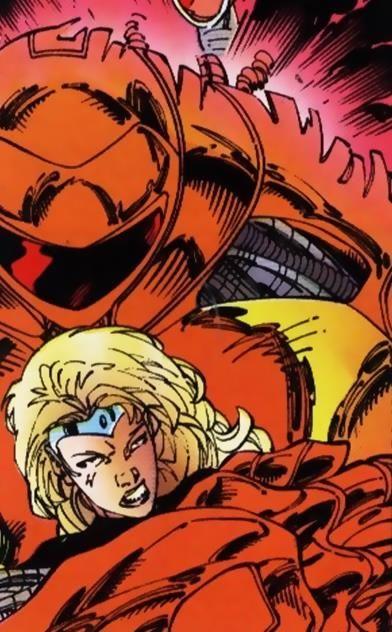 Darkstar Laynia Petrovna Earth 616 From X Men Unlimited Vol 1 No 28 X Men Marvel X Days Of Future Past
