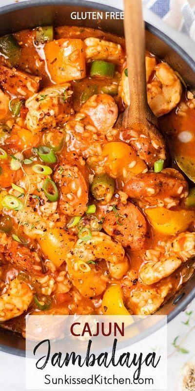 Cajun Jambalaya Jambalaya Recipe Easy Jambalaya Recipe Cajun Dishes