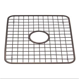 Sink Grid Protector Rack With Drain Hole In Middle Oil Rubbed Bronze Walmart Com Sink Grid Sink Protector Sink Grate
