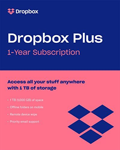 Today S Amazon Goldbox Save On Dropbox Plus 1 Tb Upgrade From