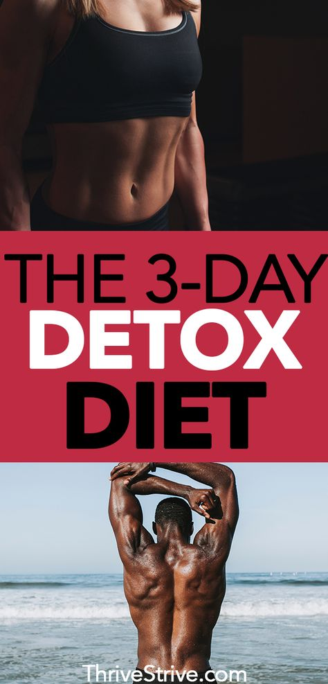 How to Do a Carb Detox: The 3-Day Detox Diet Plan
