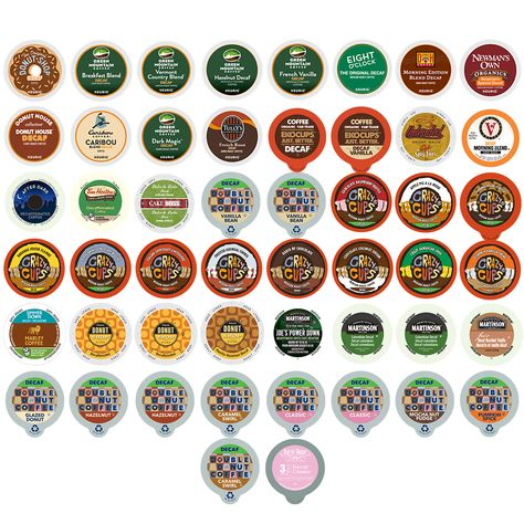 Decaf Coffee Single-serve Cups Variety Pack Sampler for Keurig K Cup Brewer